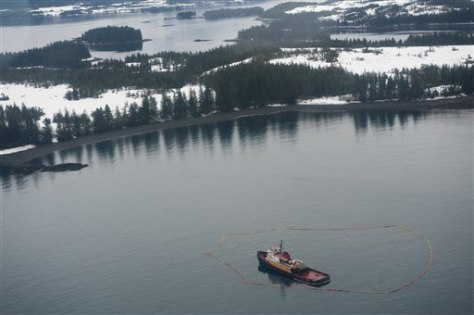 IMAGE: Tugboat in Prince William Sound