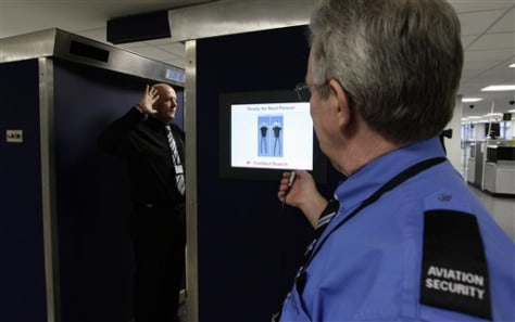 Image: U.K. airport security