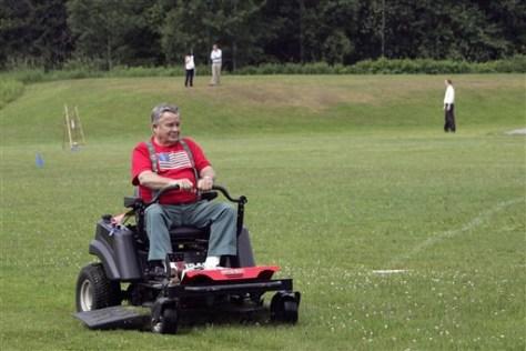IMAGE: Groundskeeper prepares Unity field
