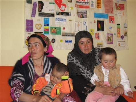 Kyrgyzstan HIV Mothers