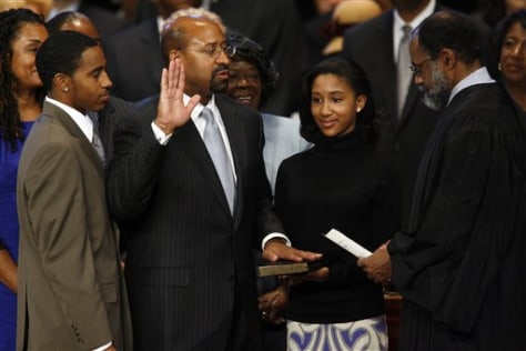IMAGE: NUTTER SWORN IN