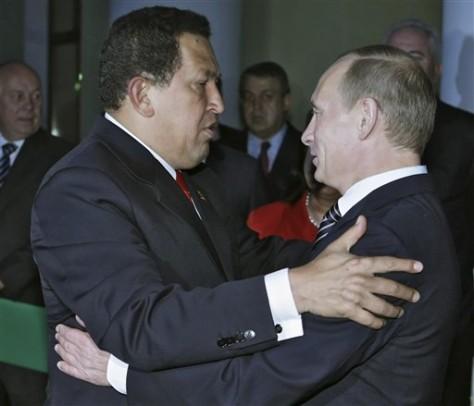 Image: Hugo Chavez, Vladimir Putin