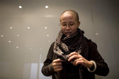 Image: Liu Xia, wife of Chinese dissident Liu Xiaobo