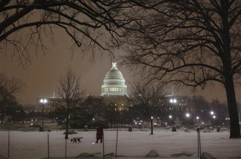Image: Snow in D.C.