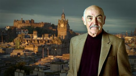 Image: Connery calls Scots home