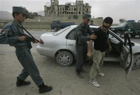 Image: Afghan checkpoint