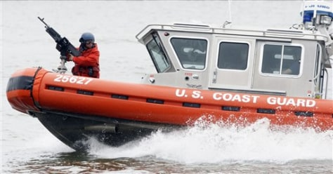 Image: Coast Guard training exercise