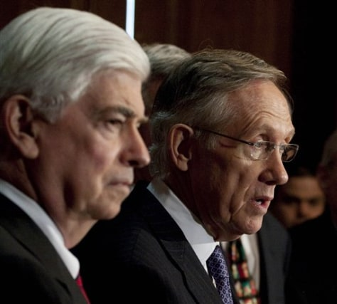 Image: Sens. Reid and Dodd