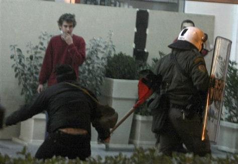 Image: Greek riots
