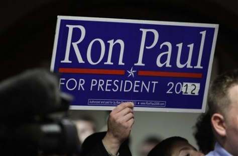 Image: Ron Paul sign