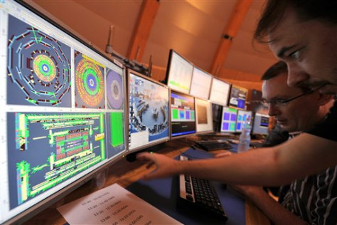 Image: Switzerland Particle Collider