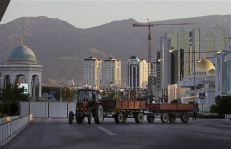 Image: Ashgabat, Turkmenistan