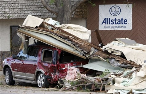 IMAGE: CRUSHED CAR