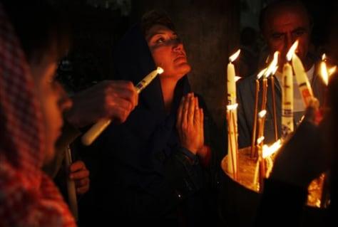 Image: Christian pilgrim in Bethlehem
