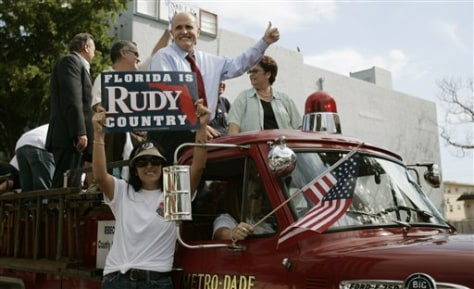 IMAGE: GIULIANI IN MIAMI PARADE
