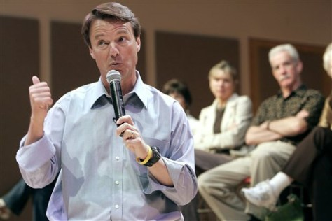 Presidential hopeful former Sen. John Edwards, D-N.C.