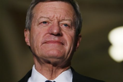 Image: Senate Finance Committee Chairman Sen. Max Baucus, D-Mont.