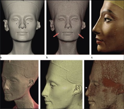 Imgae: Nefertiti Face