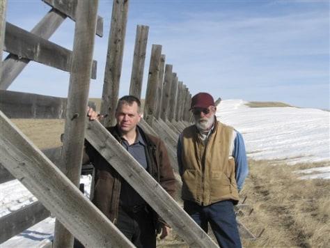 Image: Snow Fence
