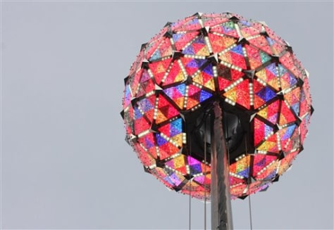 IMAGE: TIMES SQUARE BALL