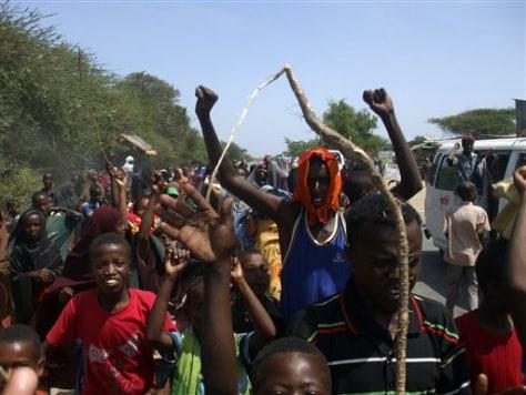 Image: Somalia protest