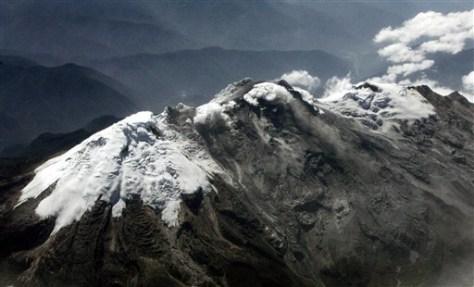 Image: Nevado de Huila volcano