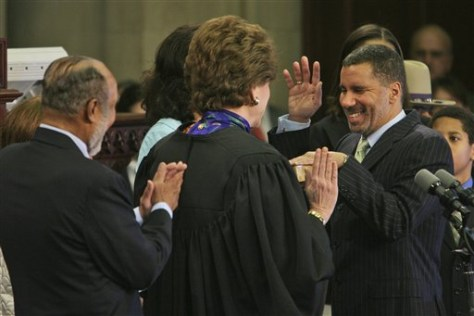 IMAGE: Paterson sworn in