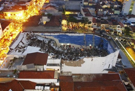 Image: Brazil church collapse