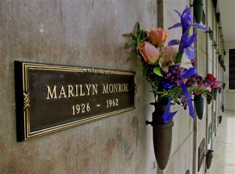 Image: Marilyn Monroe Crypt