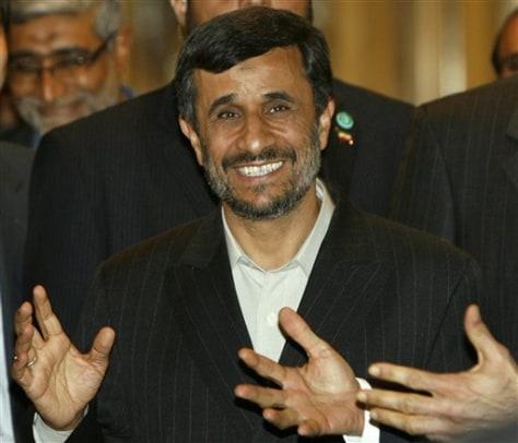 Image: Iran President Mahmoud Ahmadinejad