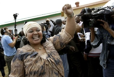 Image: ANC president Jacob Zuma's youngest wife, Nompumelelo Ntuli