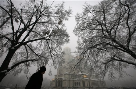 Image: Man in Sofia, Bulgaria
