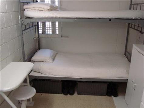 Image: Metropolitan Correctional Center cell