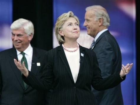 Image: Dodd, Clinton, Biden