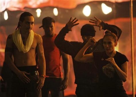 Image: Jennifer Lopez rehearsals