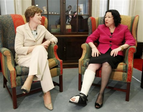 Image: Jeanne Shaheen, Sonia Sotomayor