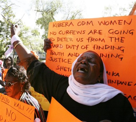 Image: Opposition protest in Kenya
