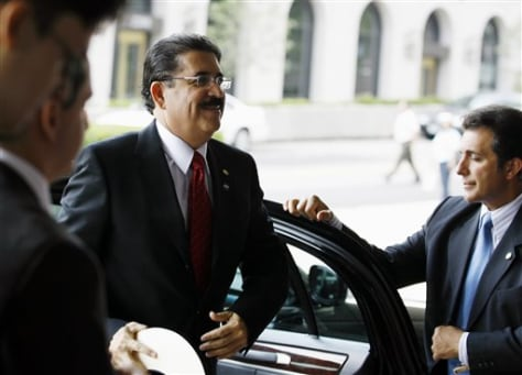 Image: Ousted Honduran President Manuel Zelaya