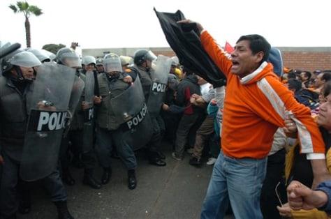 IMAGE: Peru protest