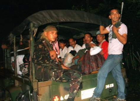 Image: Philippine hostages released