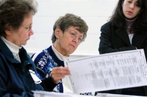 Image: Minnesota election judges recount ballots