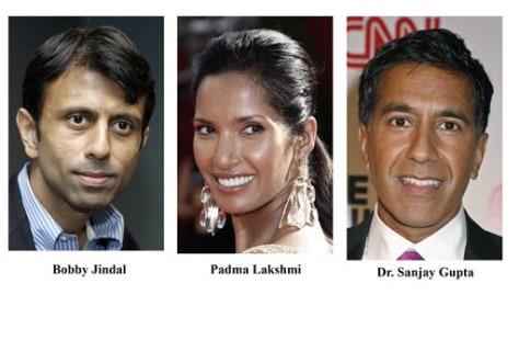 IMAGE: Jindal, Lakshmi, Gupta'