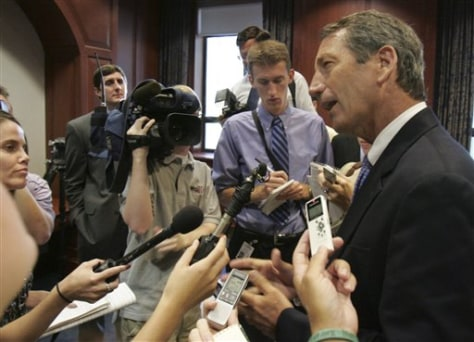 Image: S.C. Governor Mark Sanford