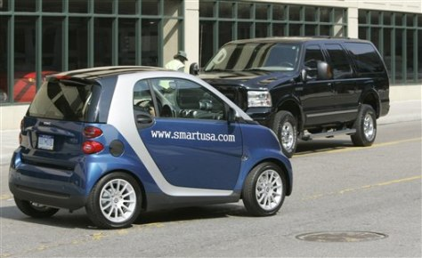 Tiny Smart Car Faces Safety Questions