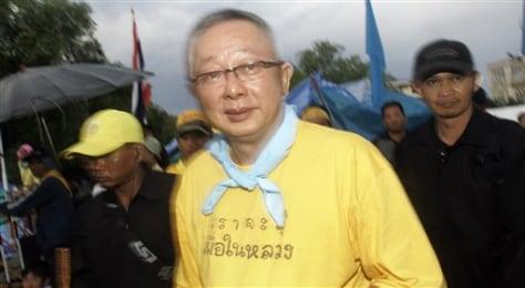 Image: Thai protest leader Sondhi limthongkuanti