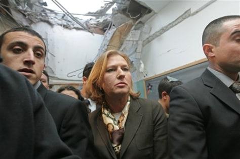 Image: Former Israeli Foreign Minister Tzipi Livni