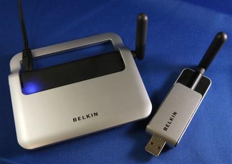 Image: Belkin Wireless USB hub