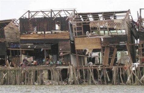 Image: Cyclone damage