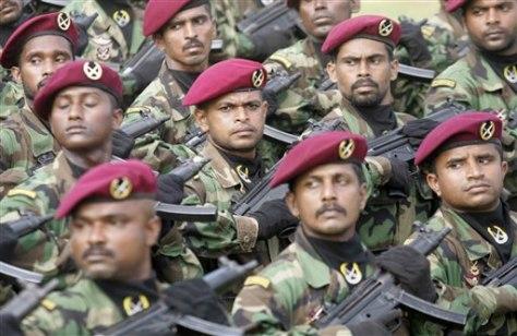 Image: Sri Lankan commandos