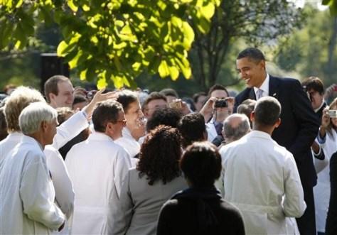 Image: Obama, doctors